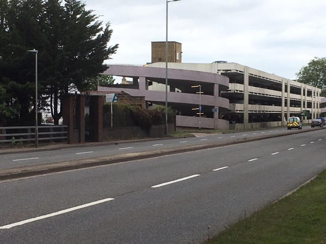 Hertford Gascoyne Way Car Park