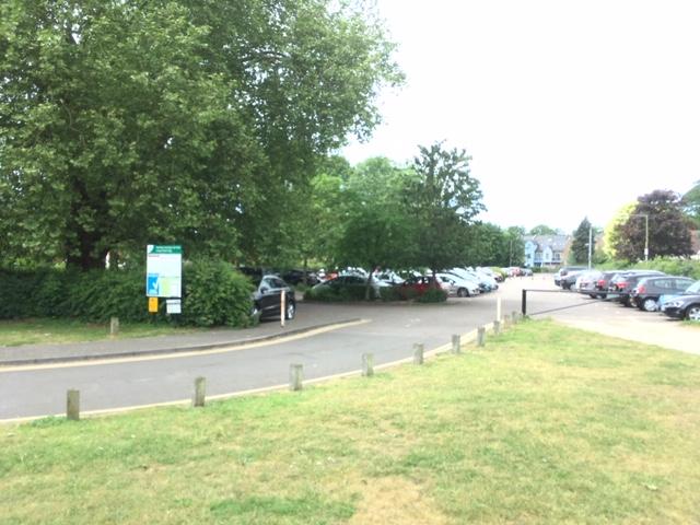 Hartham Common Car Park hertford