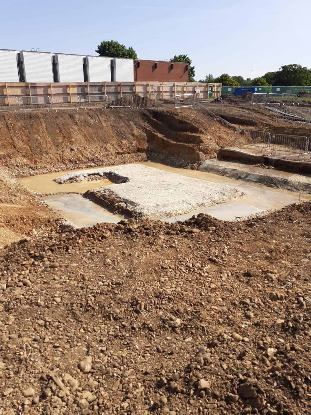Grange Paddocks - Excavated 25m pool