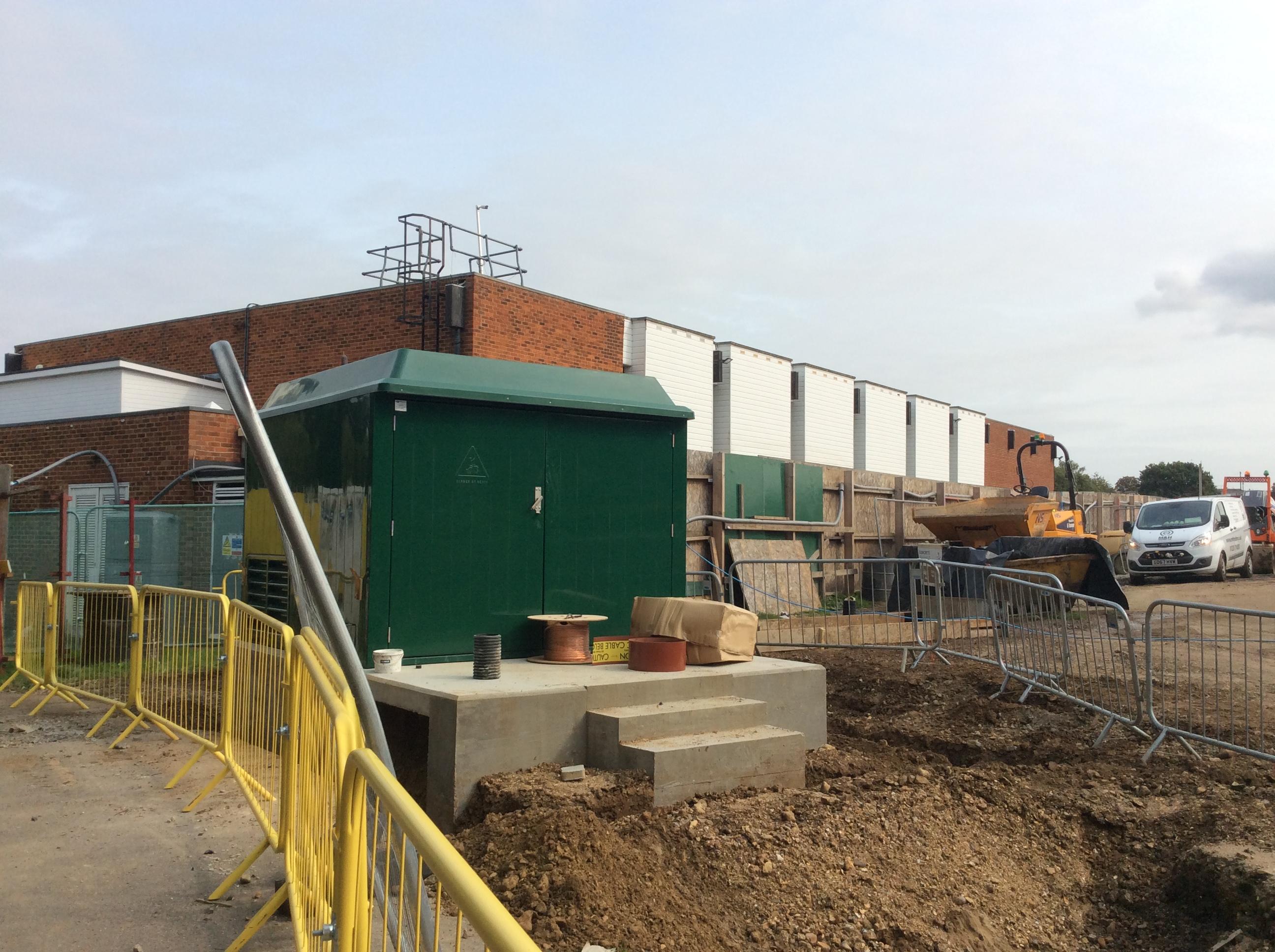 Grange Paddocks - 11.09.2020 - new substation