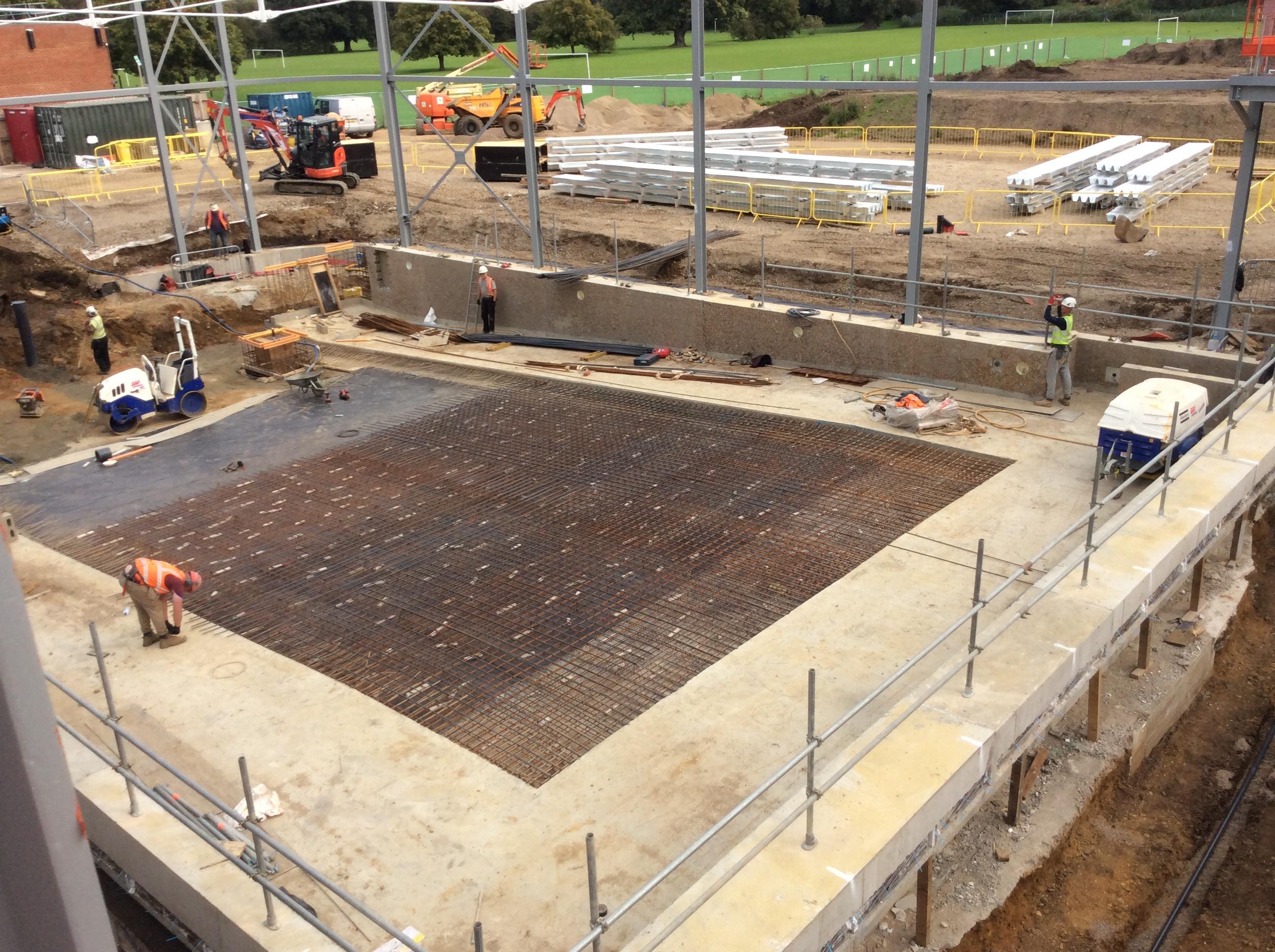 Grange Paddocks - 11.09.2020 - progress on site