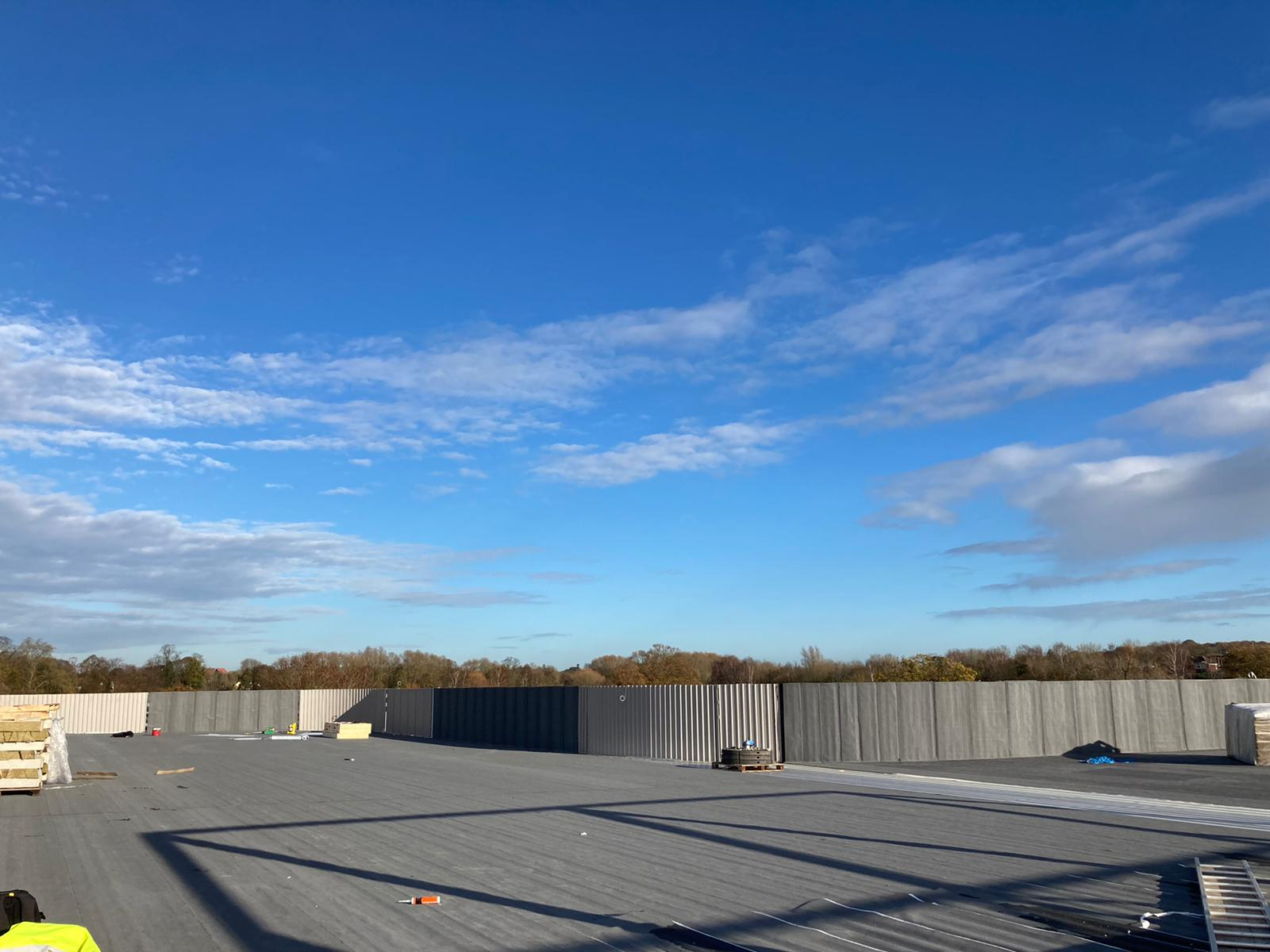 18.11.20 - the roof taking shape