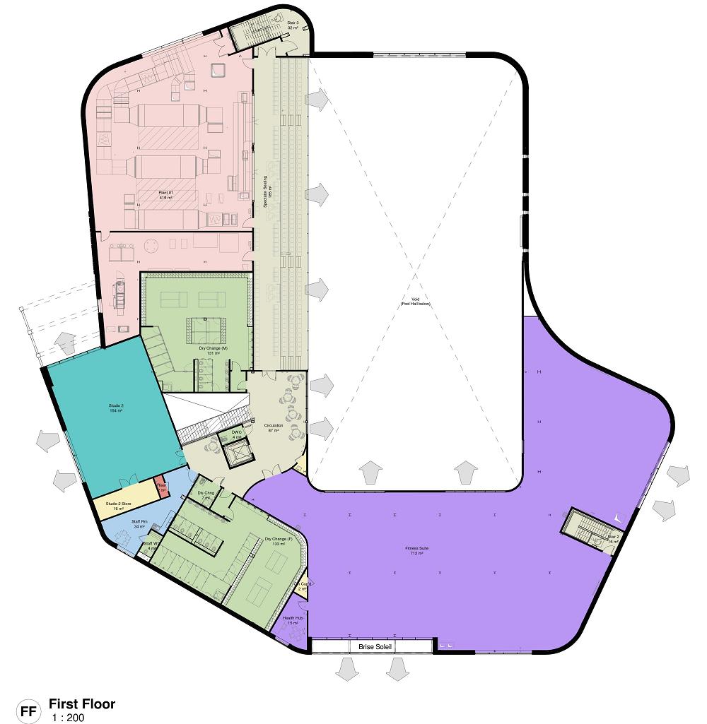 Grange Paddocks - First Floor Plan