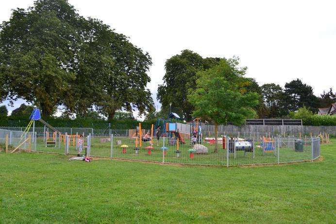 Image of children's play area in park