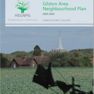 Gilston Area Neighbourhood Plan front cover