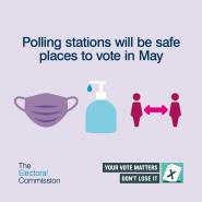 Polling stations in May